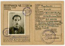 Mitgliedsausweis von A. Topolnicki, 1.5.1950