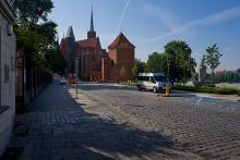 Die Martinskirche (Kościół św. Marcina) in Breslau.