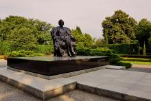 Denkmal für Fryderyk Chopin in Breslau.