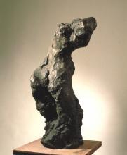 Karol Broniatowski: Akt II, 1988. Bronze, Höhe 113 cm.