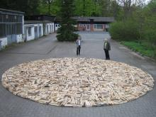 Hölzernes Objekt, 2008