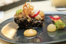 """Auf eine eher ungewöhnliche Art und Weise vermischen sich im Restaurant """"Agata's"""" Elemente der polnischen Küche mit Einflüssen des Asiatischen in einem edlen kulinarischen Konglomerat."""
