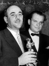 Artur Brauner, im Juli 1956 auf den 6. Internationalen Filmfestspielen in Berlin