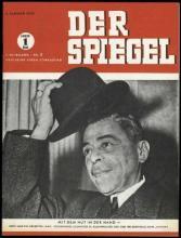 Strona tytułowa magazynu DER SPIEGEL 1/1947