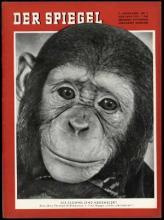 Strona tytułowa magazynu DER SPIEGEL 1/1955