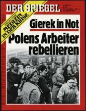 Strona tytułowa magazynu DER SPIEGEL 34/1980