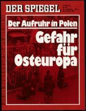 Strona tytułowa magazynu DER SPIEGEL 35/1980