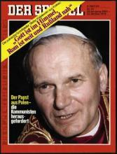 Strona tytułowa magazynu DER SPIEGEL 43/1978