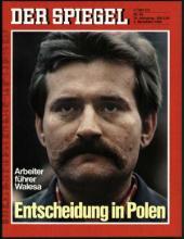 Strona tytułowa magazynu DER SPIEGEL 45/1980