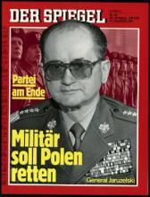 Strona tytułowa magazynu DER SPIEGEL 52/1981