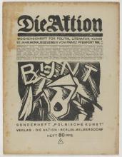 Die Aktion, Vol. 8, Nr. 21/22, Juni 1, 1918