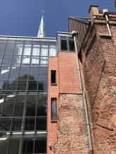 Johannes a Lasco Bibliothek, Seitenansicht, Emden