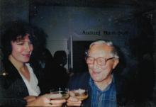 Janina Szarek i Tadeusz Różewicz