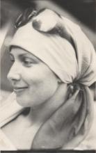 Janina Szarek prywatnie podczas pobytu w Grecji, 1978 r.
