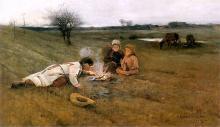 Auf dem Feld/W polu, 1889