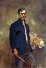 Selbstporträt mit Palette/Portret własny z paletą, 1893