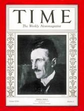 Strona tytułowa magazynu TIME 20 lipieca 1931 r.