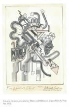 Z pamiętnika gabinetu dentystycznego: Eduardo Paolozzi