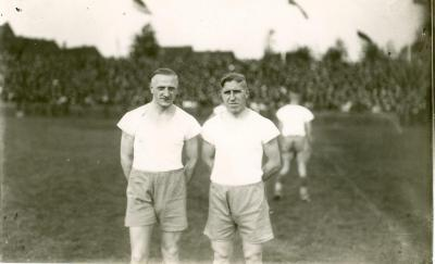 Fritz Szepan and Ernst Kuzorrra were the performers of FC Schalke 04