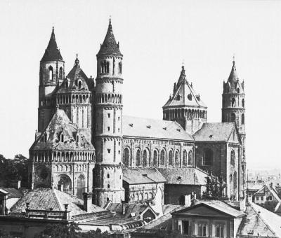 Worms Cathedral, bevor 1901