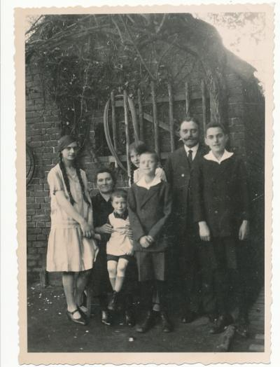 Familie Scheipers in Ochtrup, 1926