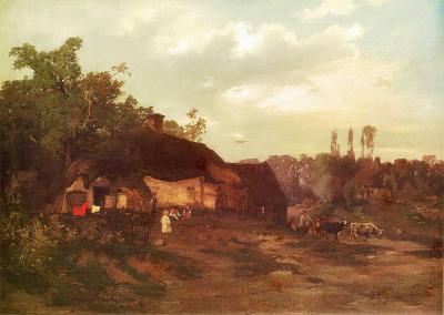 Roman Kochanowski, Landschaft, 1879, oil on canvas, 115 x 156 cm