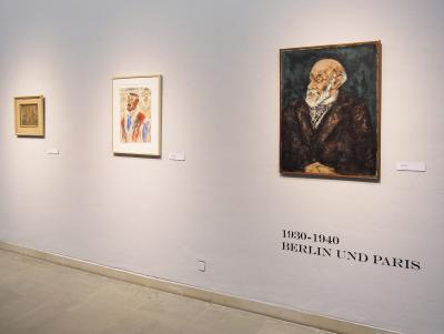 """Portrait of Dr. Freud"", ""Man with Cigarette"", ""Church"""