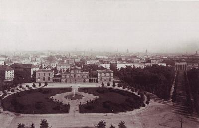 The Raczynski Palace at Königsplatz (ca. 1875)