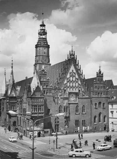 Wroclaw City Hall, undated (after 1953)
