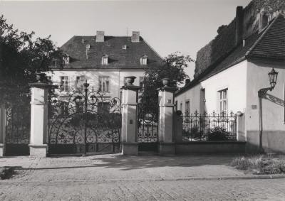 Archbishop's Palace in Wrocław, 1986.