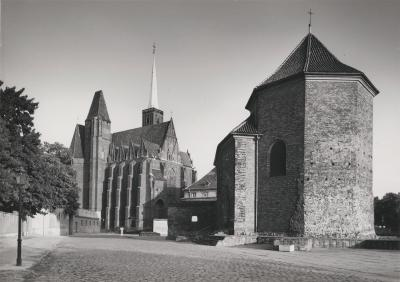 St. Martin's Church and Collegiate Church of the Holy Cross and St. Bartholomew in Wrocław, 1986.