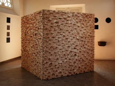 Wooden Cube, 2003