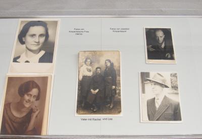 Historical photographs of J.D. Kirszenbaum and his family