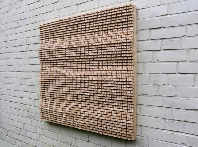 Wooden Panel, 2017