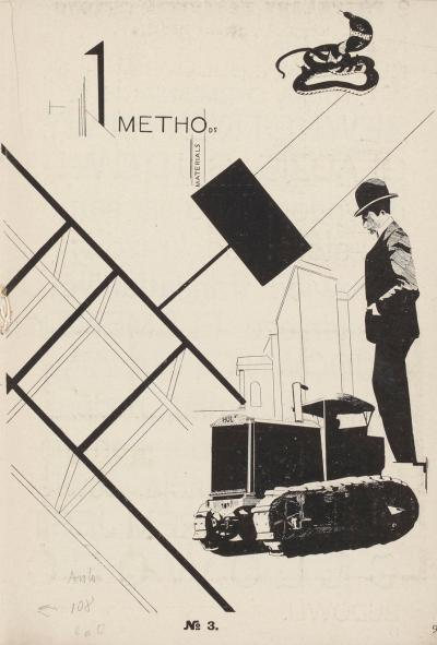 M. Szczuka: Methods. Materials, 1924, in: Blok. Revue d'art, Warschau, Juli 1924