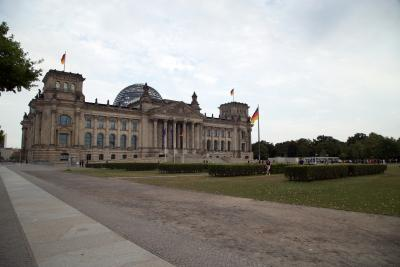 The Reichstag building in Berlin, 2019