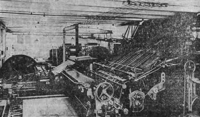 "At the printing press in the ""Narodowiec"""