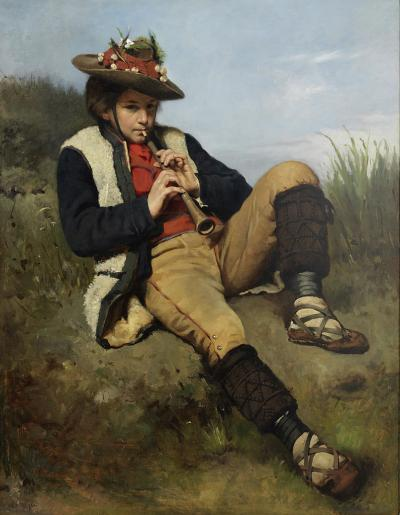 The Young Shepherd, 1875