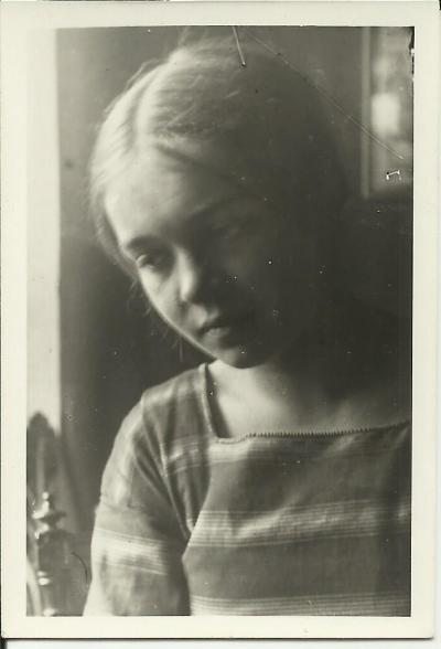 The youthful Janina Kłopocka