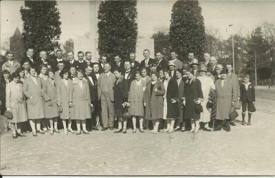"An excursion by the Polish ""Harmonia"" Singing Club in Berlin.