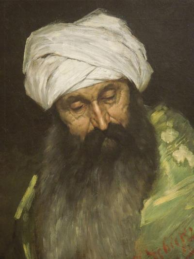 Head of an Arab/Portret głowy Araba, Munich 1885