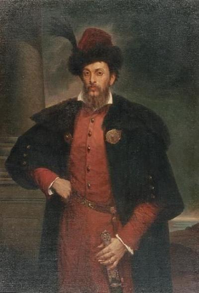 Jan Kanty hrabia Działyński (1829-1880). Polish, lord of the manor and private scholar, 1861/62 member of the Prussian Landtag and 1869/70 member of the Reichstag of the North German Confederation. Painting by Leon Kapliński, 1864
