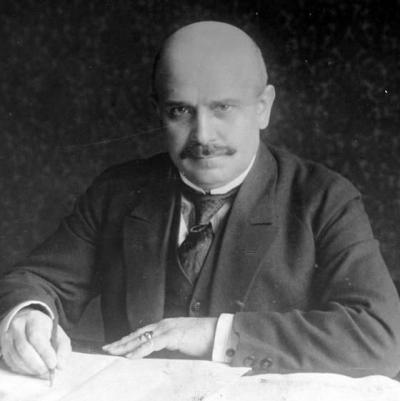 Władysław Mieczkowski (1877-1959). Polish lawyer and banker, 1907 member of the Reichstag of the German Empire