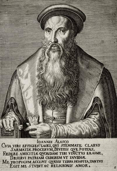 Philips Galle (1537-1612): Joannes Alasco, 1567.
